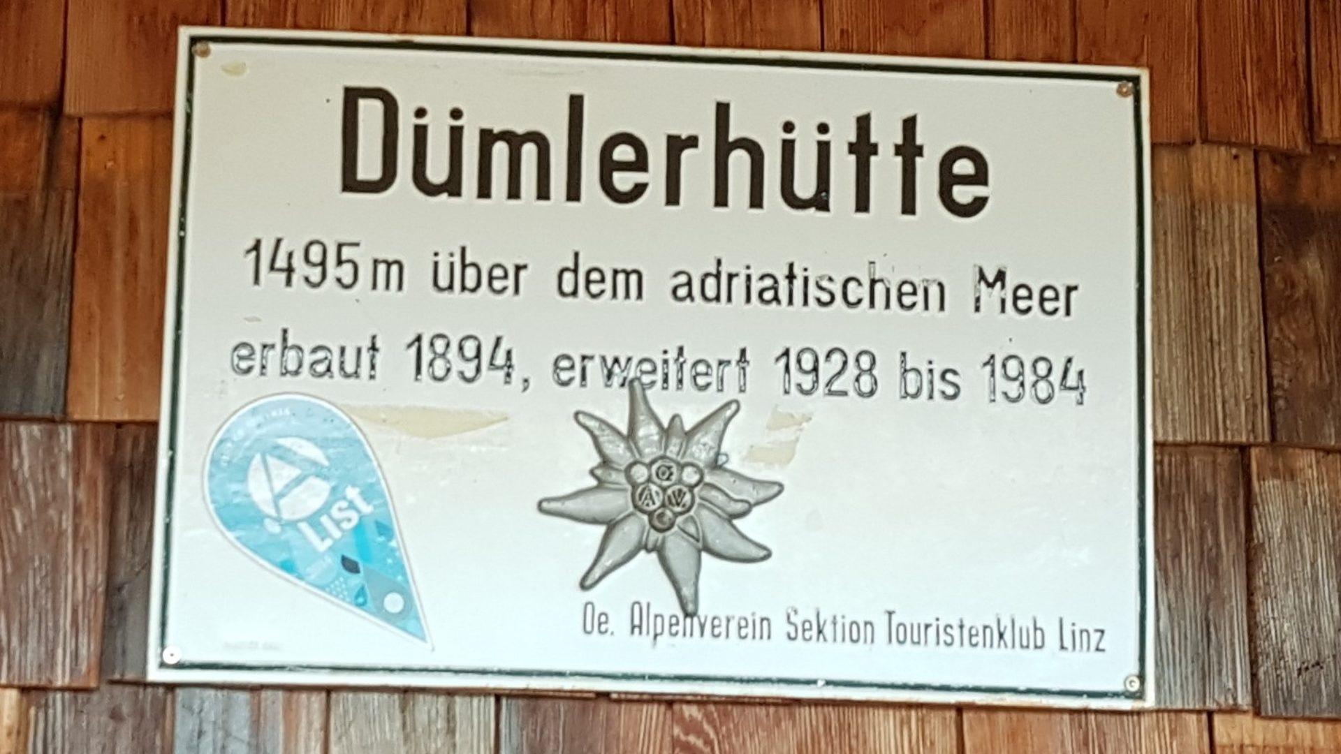 Dümlerhütte Privatzimmer und Ferienwohnungen Gassner Nationalpark Gesäuse Totes Gebirge