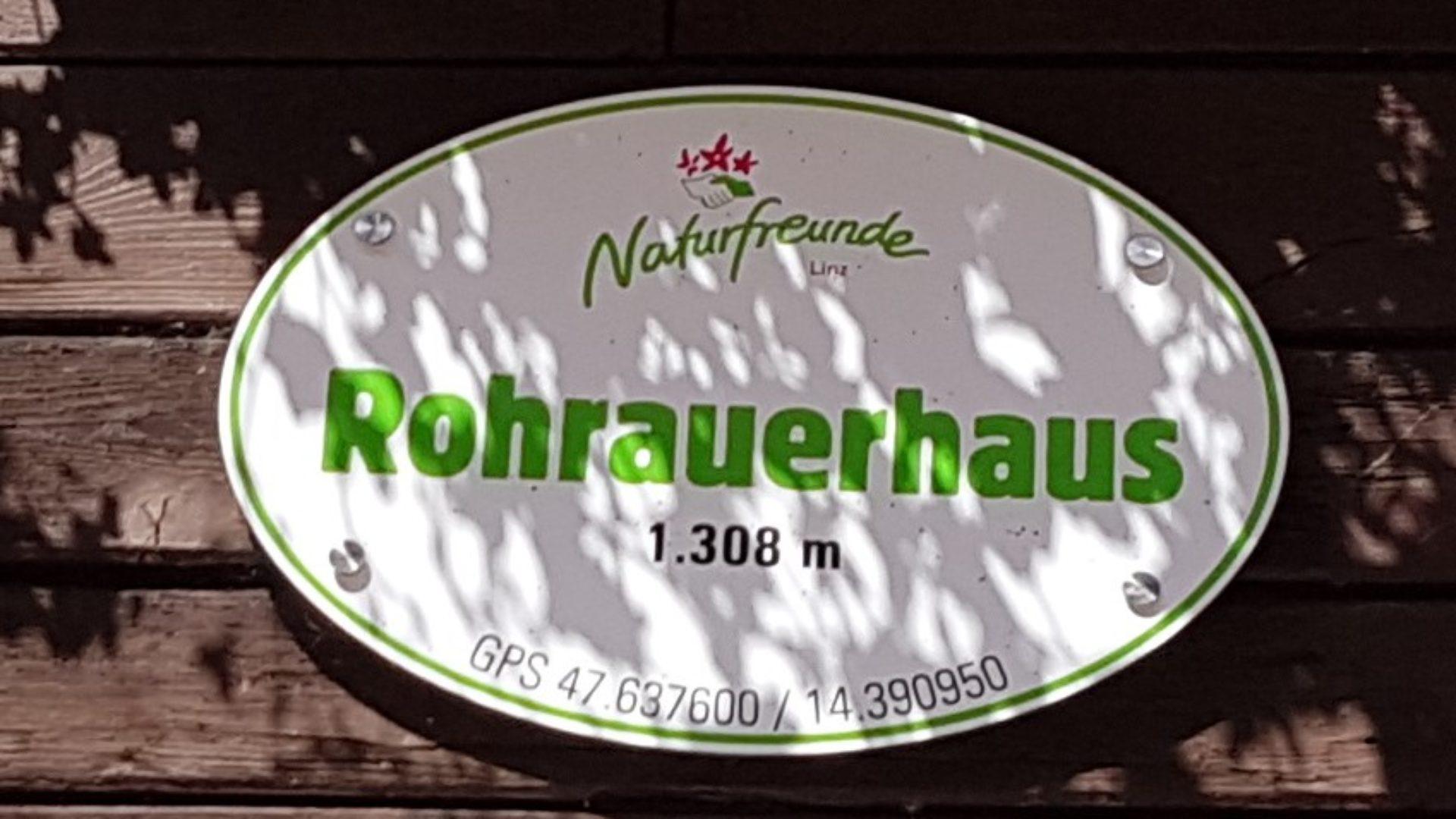 Rohrauerhaus Gowilalmhütte Privatzimmer Gassner Nationalpark Gesäuse Spital am Pyhrn