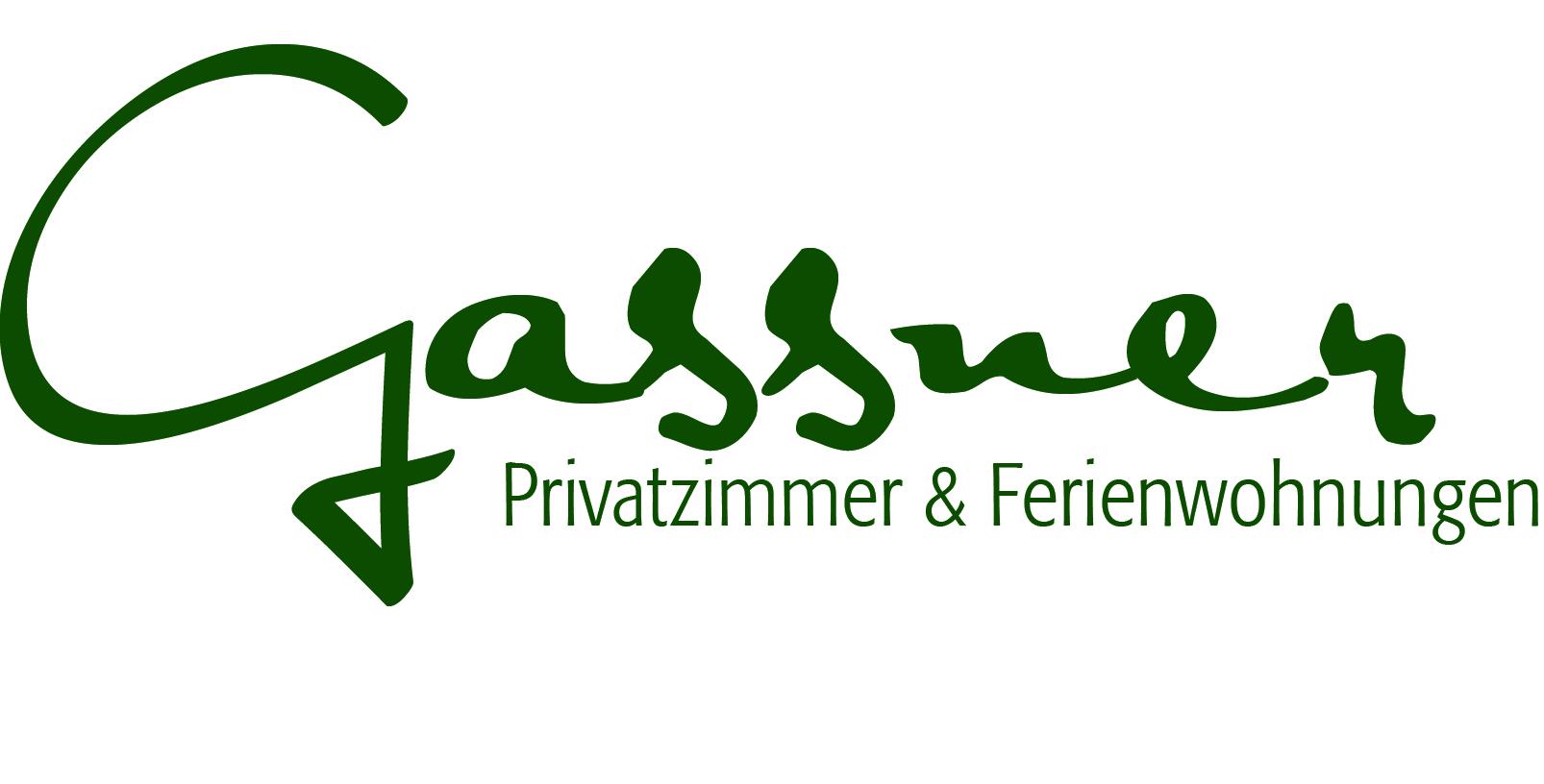 Logo Privatzimmer Ferienwohnungen Gassner Zimmer Gesäuse