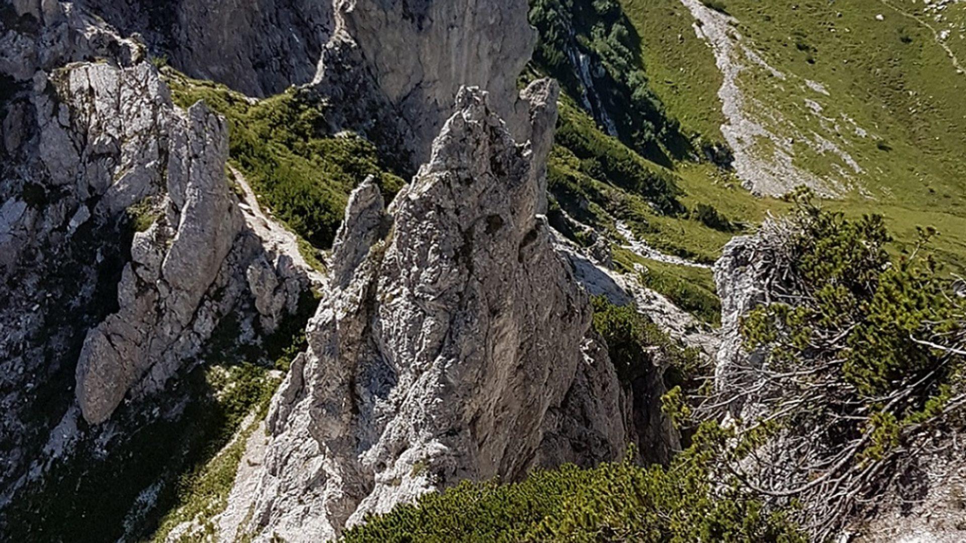 Jungfernsteig Privatzimmer Ferienwohnungen gassner Klettersteige im Gesäuse Nationalpark Gesäuse