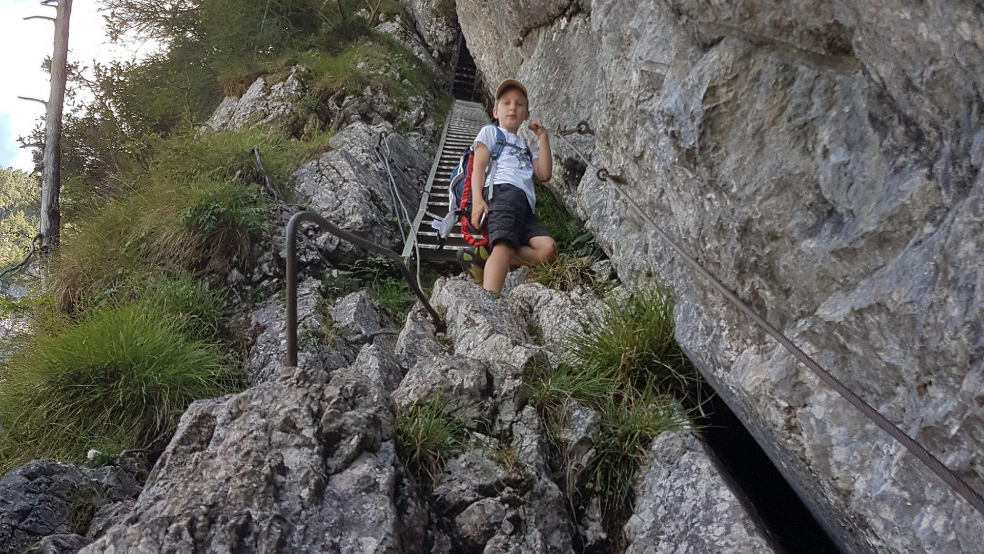 Wasserfallweg Privatzimmer Ferienwohnungen Gassner Klettersteige Nationalpark Gesäuse