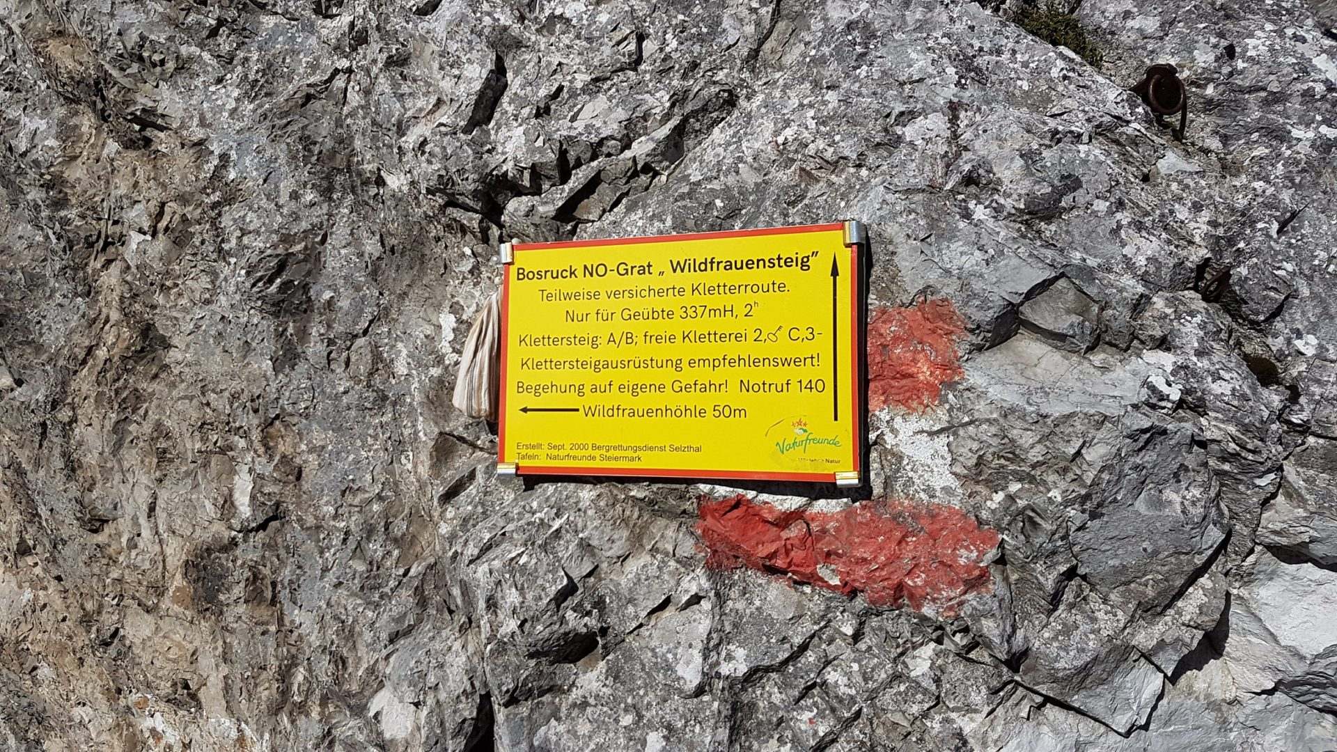 Wildfrauensteig Bosruck Privatzimmer und Ferienwohnungen Gassner Nationalpark Gesäuse
